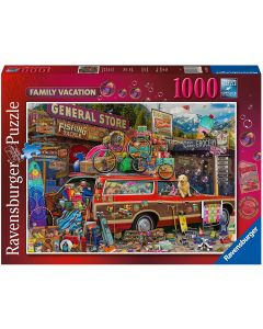 Ravensburger Puzzle, Puzzle 1000 Pezzi, Vacanze di Famiglia