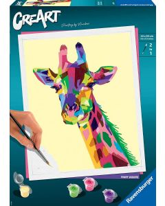 Ravensburger- CreArt-Grand-Giraffa