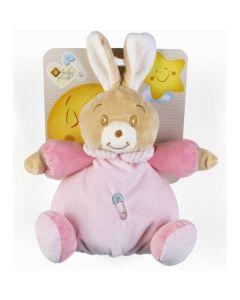 Plush & Company Babycare Peluche Coniglietta Rosa