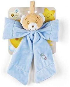 Babycare Orsetto Fiocco Nascita Azzurro