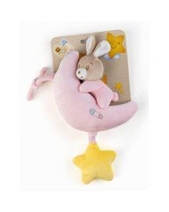 Plush & Company Babycare Carillon Coniglietta Rosa