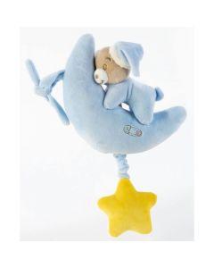 Plush & Company Babycare Carillon Orsetto Azzurro