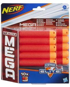 Nerf Refill 10 Dardi Mega - Hasbro 68E24
