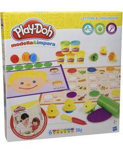 Play-Doh Modella e Impara Lettere e Lingue - Hasbro B3407103