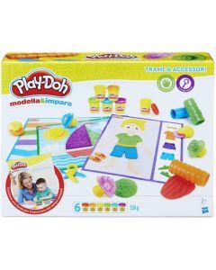 Play-Doh Modella e Impara Trama e Accessori - Hasbro B3408103