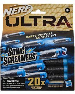 Nerf Confezione ricarica Sonic Screamers da 20 - Hasbro 48EU4