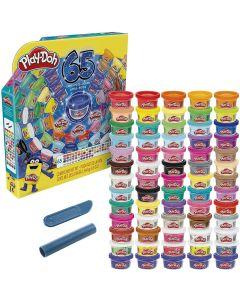 PlayDoh Confezione da 65 composti modellabili Assortiti