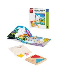 Baby Tangram Libro La Giornata Di Coniglietto - Dal Negro 055758