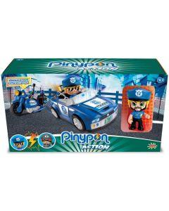 Veicoli Polizia con Personaggio e Accessori Di Pinypon Action 2 - Giochi Preziosi PNC02000