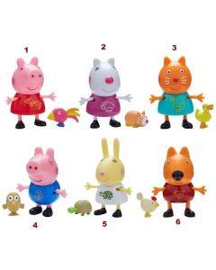 Peppa Pig Personaggi con Cucciolo - Giochi Preziosi PPC44000