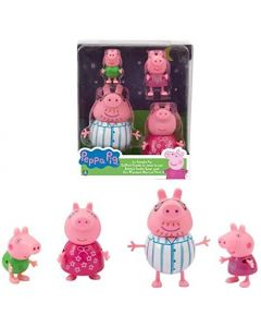 Peppa Pig Set Famiglia - Giochi Preziosi PPC75000