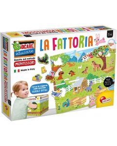 Montessori La Fattoria - Lisciani Giochi 72484
