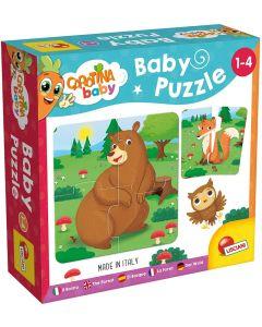 Carotina Baby Puzzle Il Bosco - Lisciani Giochi 80076