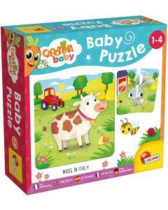 Carotina Baby Puzzle La Fattoria Lisciani Giochi 80083