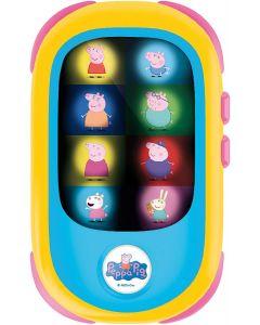Peppa Pig Baby Smartphone LED - Lisciani Giochi 80229