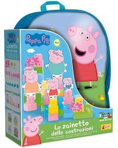 Peppa Pig Zainetto Costruzioni Baby 36 Pezzi