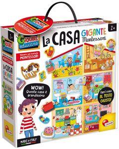 La Casa Gigante - Montessori - Lisciani Giochi 85644