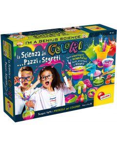 I'm a Genius - La Scienza Dei Colori...Pazzi E Segreti - Lisciani Giochi 86252