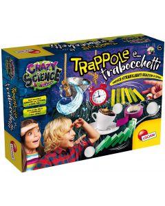 Laboratorio Trappole e Trabocchetti - Crazy Science - Lisciani Giochi 86320