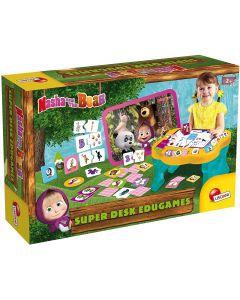 Lisciani Giochi- Masha e Orso tavolo educativo