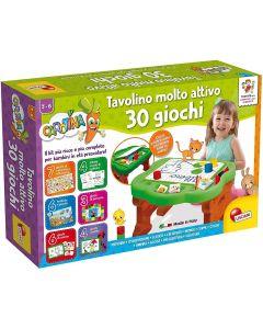 Carotina Tavolino Molto Attivo 30 Giochi - Lisciani 90075