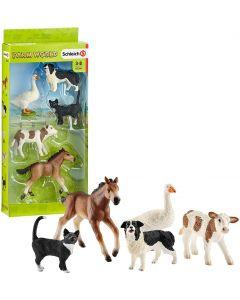 Animali Farm World Assortiti - Schleich 42386