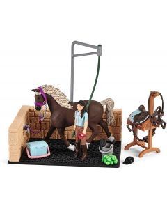 SCHLEICH Area di Lavaggio con Horse Club Emily e Luna - 2542438
