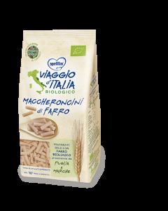 Mellin Bio Viaggio d'Italia - Pastina di Farro Maccheroncini250gr