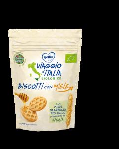Mellin Bio Viaggio d'Italia - Biscotti al Miele 150gr