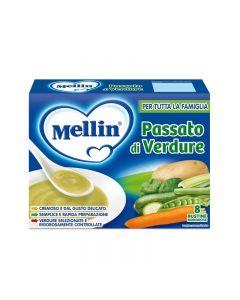 Mellin Passato Di Verdure - 8 bustine da 13gr