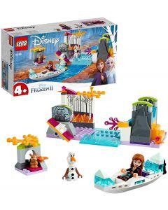 Spedizione sulla Canoa di Anna - LEGO Frozen 41165