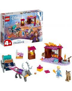 Frozen II L'Avventura sul Carro di Elsa - Lego Disney 41166