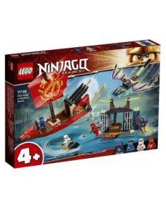 LEGO Ninjago Il Volo Finale Fel Vascello Del Destino - 71749