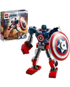 Avengers Armatura Mech di Capitan America - LEGO 76168