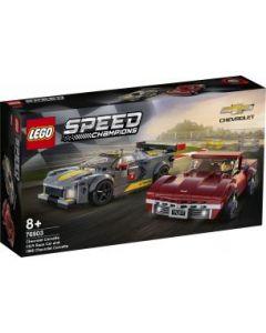 LEGO Speed Champions Chevrolet Corvette C8-R & 1968 C3 - 76903