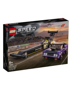 Lego Speed Champions Mopar Dodge/SRT Top Fuel Dragster e 1970 Dodge Challenger T/A - 76904