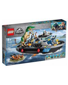 LEGO Jurassic World Fuga sulla Barca del Dinosauro Baryonyx