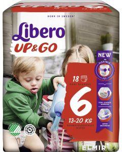 Libero Pannolino Up&Go Tg 6 13/20 Kg 20 Pz