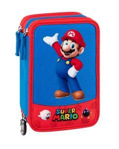 Super Mario Astuccio organizzato tre zip