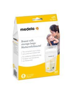 Medela Sacchetti per la Conservazione del Latte Materno 25pz