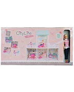 Ods Srl 44407 - City Life Villetta Con Bambola e Accessori