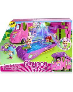 Famosa 700015070 - Pinypon Cool Caravan