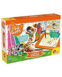 44 Gatti Canta e Disegna - Lisciani 76642