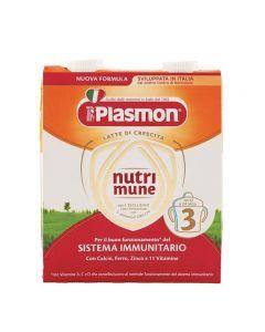 Plasmon Latte Nutrimune 3 - 2X500 ML