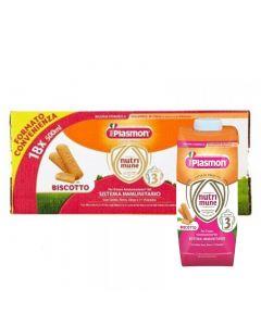 Plasmon Latte Nutrimune Biscotto 3 - 18X500 ML