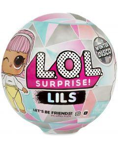 L.O.L Surprise - LOL Lils Winter Disco Series con 5 Sorprese - Giochi Preziosi, LLU85000