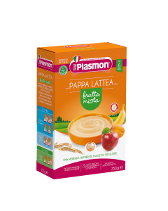 Plasmon Pappa Lattea Frutta Mista - 250 gr