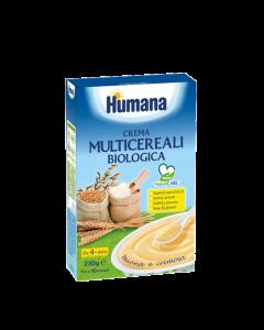 Humana Crema Multicereali Biologica - 230 gr