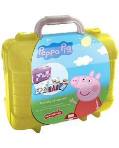 Valigetta con timbri e pastelli Peppa Pig - Multiprint 82875