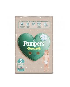 Pampers Pannolini Naturello Junior - Taglia 5 - 11/25 KG